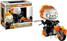 Marvel Funko POP! Rides Ghost Rider with Bike Exclusive Vinyl Figure (Pre-Order ships October)