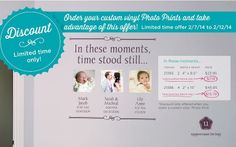 Uppercase Living...In these moments, time stood still... When you order a PhotoPrint, you can get this exclusive expression for 70% off! http://aprilminer.uppercaseliving.net/Home.m