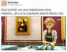 Bella obra Miraculous Ladybug Memes, Memes Chistosisimos, Funny Memes, Mlb, Ladybug Comics, Amazing, Lady Bug, Disney, Cats