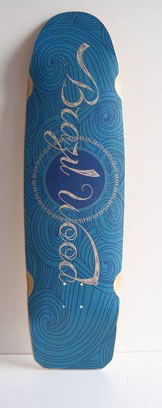 Shape Skate Semi Long 37 Brazil Wood Tail E Nose - R$ 136,00 no MercadoLivre