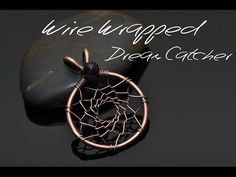 Learn how to wire wrap the webbing of a dream catcher! Level: Beginner Dreamcatchers, derived from the Ojibwe traditions, were used to filter the good dreams...