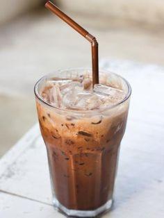glaçon, eau, café instantané lyophilisé, sucre
