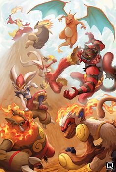 Fire Blast by Quirkilicious on DeviantArt Pokemon Backgrounds, Cool Pokemon Wallpapers, Cute Pokemon Wallpaper, Animes Wallpapers, Pokemon Poster, Pokemon Fan Art, Fanart Pokemon, Pokemon Images, Pokemon Pictures