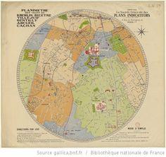 Planimètre des villes de Kremlin-Bicêtre, Villejuif, Gentilly, Arcueil, Cachan - 1