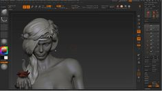 How To Sculpting Hair in ZBrush