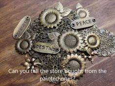 How to make any color metal look like antique bronze | Craft Project Whiplash