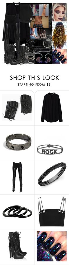 """""""POWER!"""" by thatshowitsdone ❤ liked on Polyvore featuring injury, Torrid, Uniqlo, Spallanzani, Givenchy, Anne Sisteron, Furla, Thierry Mugler, Haider Ackermann and INDIE HAIR"""