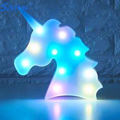 Barato Unicornio Szvfun Luminaria Lâmpada Bebê Luz da Noite LEVOU Partido Unicórnio 3D LED Marquee Carta Animais Quarto Candeeiro de Mesa Decoração, Compro Qualidade Luzes da noite diretamente de fornecedores da China: Unicornio Szvfun Luminaria Lâmpada Bebê Luz da Noite LEVOU Partido Unicórnio 3D LED Marquee Carta Animais Quarto Candeeiro de Mesa Decoração