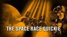 One small step for man, one giant leap for mankind. These are words that every kid knows. But what is a Space Race Quickie? Indy will tell you. One Small Step, Space Race, Space Exploration, Science And Technology, Indie, Told You So, British, Presents, Racing