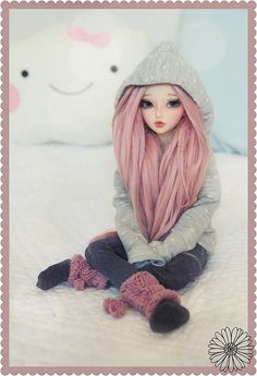 Imagem de doll, cute, and bjd Ooak Dolls, Blythe Dolls, Barbie Dolls, Pretty Dolls, Beautiful Dolls, Kawaii Doll, Realistic Dolls, Smart Doll, Anime Dolls
