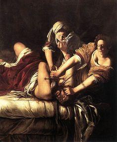 Judith Beheading Holofernes, Artemisia Gentileschi, Galleria degli Uffizi, Firenze