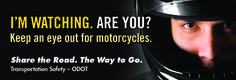 I'm watching, are you? : keep an eye out for motorcycles, by the Oregon Department of Transportation, Transportation Safety Division