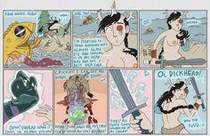 Ten Deadly Tasks Page 49 - Ten Deadly Tasks Artists, Comics, Anime, Cartoon Movies, Cartoons, Anime Music, Comic, Animation, Comics And Cartoons