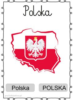 Learn Polish, Preschool Activities, Patriots, Christmas Diy, Playing Cards, Flag, Education, Learning, Gifts