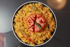 Tomato Rice - Tomato Pulao
