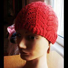 crochet hat Red knitting hat  handmade special design winter hat red hat