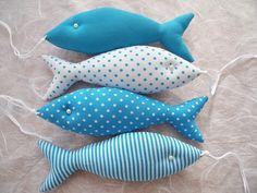 Fish Crafts, Baby Crafts, Diy And Crafts, Arts And Crafts, Sewing Toys, Sewing Crafts, Sewing Projects, Felt Crafts Patterns, Sewing Patterns For Kids