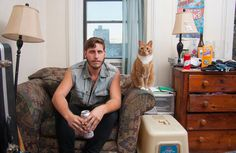 Men And Cats: Photographer Challenges 'Crazy Cat Lady' Stereotype