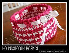 I love this basket pattern!