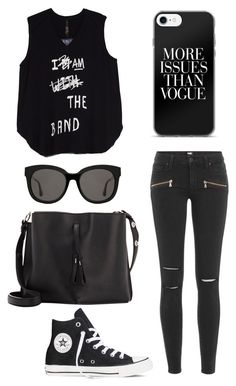"""""""Omg"""" by phya ❤ liked on Polyvore featuring Paige Denim, Melissa McCarthy Seven7, Converse, Maison Margiela, Gentle Monster and plus size clothing"""