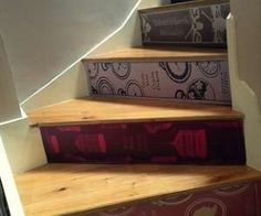 Stick-On Home Decor - Transform Your Staircase Into a Library with Interior Design Wall Stickers (GALLERY)