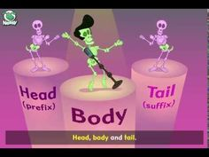 (44) Nessy Reading Strategy: Head Body Tail song - YouTube