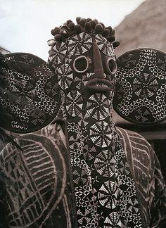 Elephant Mask. Bamileke secret society, West Cameroon.
