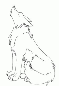Animals drawing outline pin by on wolf sketch in drawings outline drawings tattoo drawings animal drawings pencil drawings art drawings wolf anime wolf Outline Drawings, Pencil Art Drawings, Art Drawings Sketches, Cute Drawings, Tattoo Drawings, Easy Animal Drawings, Coyote Drawing, Wolf Howling Drawing, Howling Wolf Tattoo