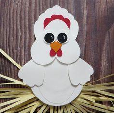 Lynn's Locker: Stampin' Up Punch Art Chicken Recipe Card Swap