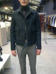 Neoprene jackets by Balenciaga!