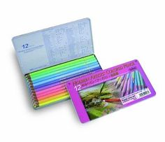 20903 Holbein Colored Pencils 12 Color Pastel Tone Set