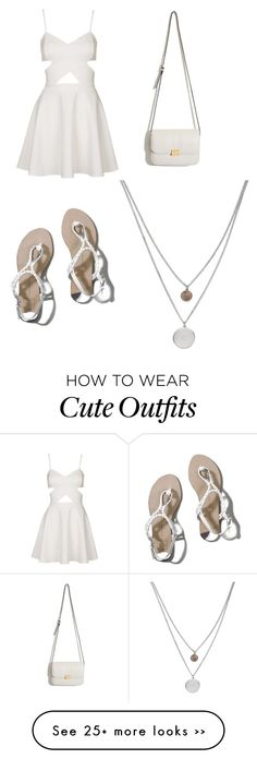 """Cute summer outfit"" by emirose0318 on Polyvore"