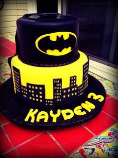 Batman cake.. Loved it