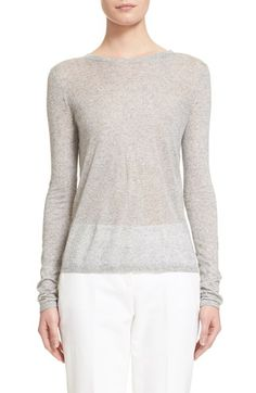 Michael Kors Long Sleeve Tissue Tee available at #Nordstrom