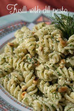 Fusilli with dill pesto - cookeatup
