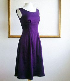 TW_5045 Short Royal Purple Formal Dress