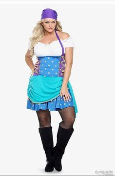 PLUS SIZE HALLOWEEN COSTUMES 'Gypsy'