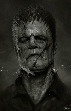Frankenstein's Monster by Adnan Ali *