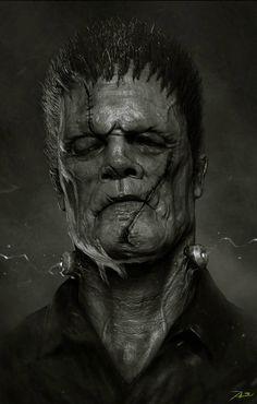 Frankenstein's Monster by Adnan Ali *