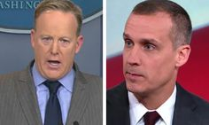 WH firmly denies rumors fmr SEAL being considered to replace Spicer, but Corey Lewandowski says . . .