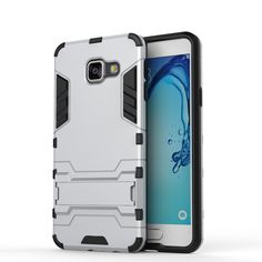 For Samsung Galaxy A3 2016 Case A310 A310F Slim Hard Back Phone Case Robot Armor Hybrid Rugged TPU Cover For Samsung A3 2016 (<