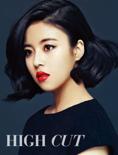 Dohee from Tiny-G in a Beauty shot for High Cut. Love her hair and makeup. Braided Hairstyles For Wedding, Short Hairstyles For Women, Vintage Hairstyles, Girl Hairstyles, Shot Hair Styles, Long Hair Wedding Styles, Vintage Wedding Hair, Brown Eyed Girls, Dramatic Eyes