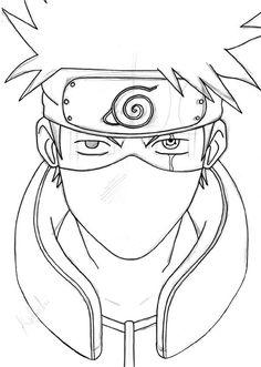 kakashi hatake by pandamanda artwork inspiration Naruto Drawings Easy, Naruto Sketch Drawing, Kakashi Drawing, Anime Boy Sketch, Art Drawings Sketches Simple, Easy Drawings, Naruto Painting, Anime Character Drawing, Mini Drawings