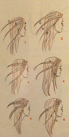 Braids braiding tutorial