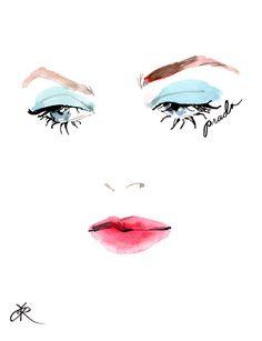 The Look at Prada - Regina Yazdi