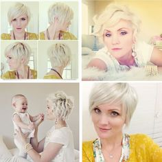 Trends for Short Hair 2014 – 2015 – Latest Bob HairStyles 2015 Hairstyles, Pixie Hairstyles, Pretty Hairstyles, Hair Styles 2014, Curly Hair Styles, Whippy Cake Hair, Corte Y Color, Haircut And Color, Hair Affair