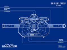Cardassian Galor Class  - Aft View