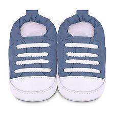 NEW SHOOSHOOS LEATHER BABY SNEAKERS -ALL SIZES Blue sneaker shoo shoos