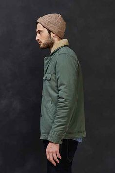 UrbanOutfitters, CPO Ruskin Deck Jacket #ruskin #deck #jacket #man