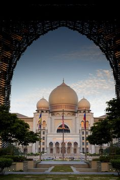 Palace of Justice in Putrajaya, Malaysia.